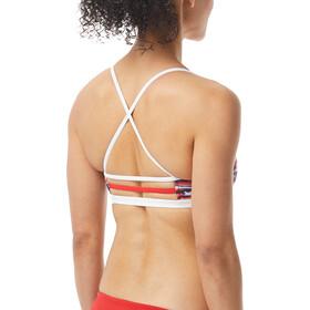 TYR All American Trinity Bikini Top Donna, colorato